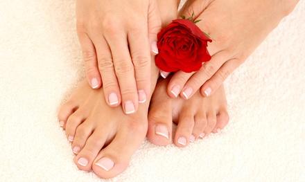 Spa Mani-Pedi or Shellac Manicure with Spa Pedicure at Christina's Salon & Boutique (Up to 53% Off)