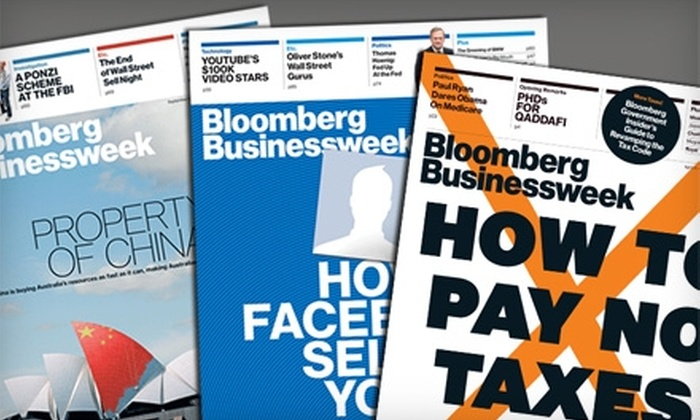 Bloomberg Businessweek: $19 for 50 Issues of Bloomberg Businessweek ($40 Value)