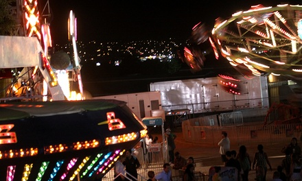 Rodeo, Demolition Derby, or Carnival Tickets at the Salt Lake County Fair on August 6–9 (Up to Half Off)