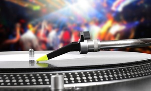 DjICE: DJ-and-Karaoke Package with Optional Club Lights and Projector from DJ Ice (65% Off)