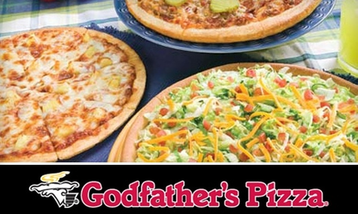 Godfather's Pizza - Lincoln: $15 for $30 Worth of Pizza, Salads, Drinks, and More at Godfather's Pizza