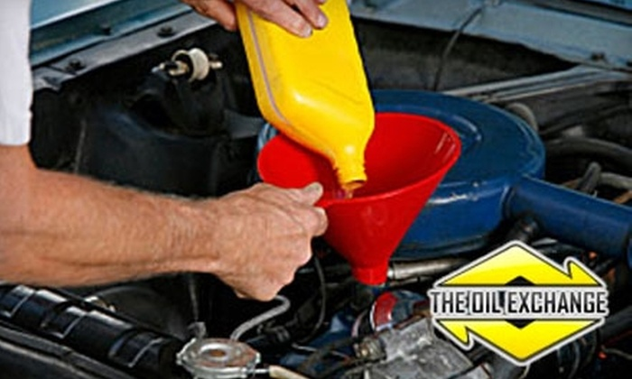 The Oil Exchange - Country View Village: $18 for a Synthetic-Blend Oil Change and More at The Oil Exchange ($36 Value)