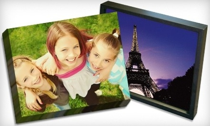 Picture it on Canvas **NAT** - Riverpoint: Up to 75% off Small, Medium, and Large Photo-Print Reproductions on Gallery-Wrapped Canvas from Picture It On Canvas
