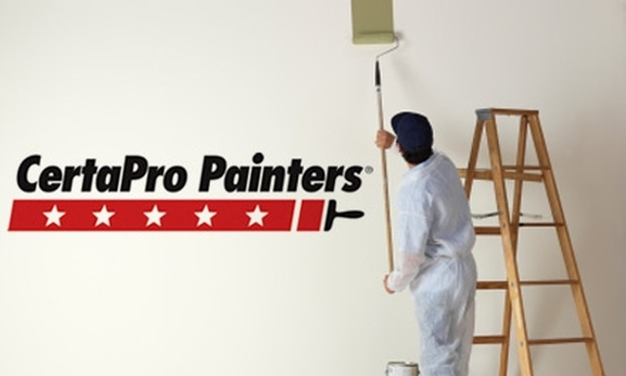 CertaPro Painters of South Birmingham - Redmont Park: $99 for One Room of Wall Painting from CertaPro Painters of South Birmingham (Up To $265 Value)
