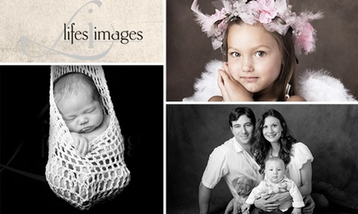 Life's Images - Houston: $50 for Private Photography Session, One 8x10, and Two 5x7s at Life's Images ($195 Value)