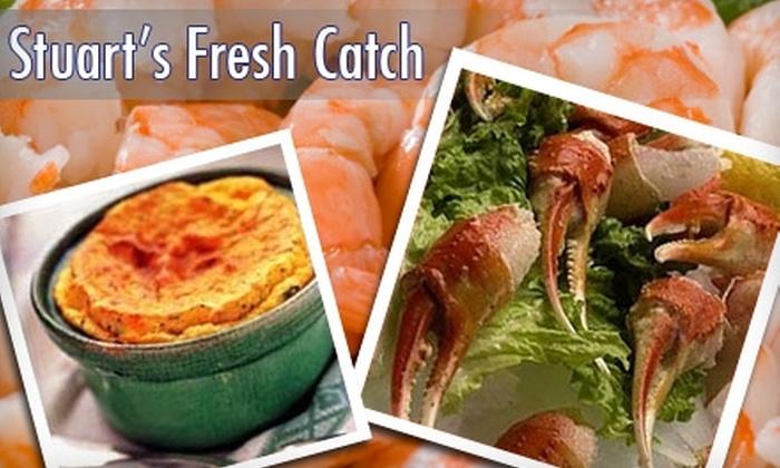 Stuart's Fresh Catch - Fairfield: $7 for $15 Worth of Fresh Seafood at Stuart's Fresh Catch