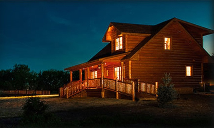 Hatfield Lakes - Creston: One-Night Lakeside Cabin Stay with Fishing Gear for Two, Four, or Six at Hatfield Lakes in Creston (Up to 55% Off)