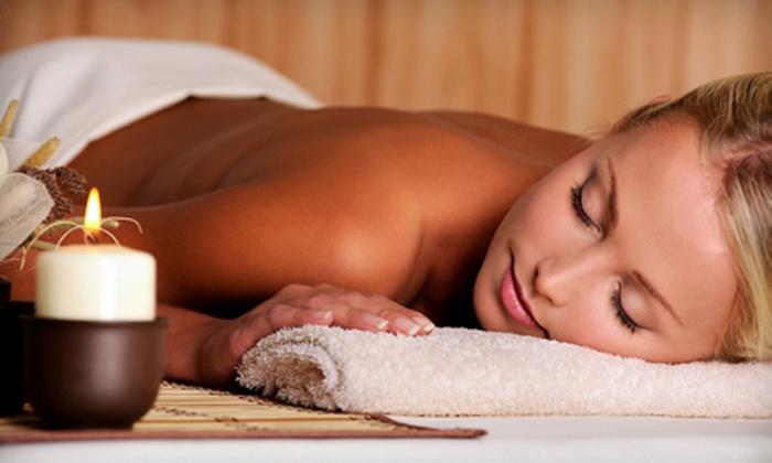 Sasha G Salon & Spa - Wheeling: $99 for an Herbal Massage and Vitamin Facial at Sasha G Salon & Spa in Wheeling ($210 Value)