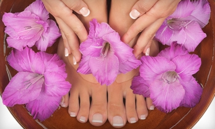 Capello Salon and Day Spa - Branford: Haircut and Style or Mani-Pedi at Capello Salon and Day Spa in Branford (Up to 60% Off)