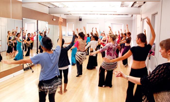 Saffron Dance - Multiple Locations: $39 for a Four-Week Belly-Dancing Course at Saffron Dance ($80 Value)