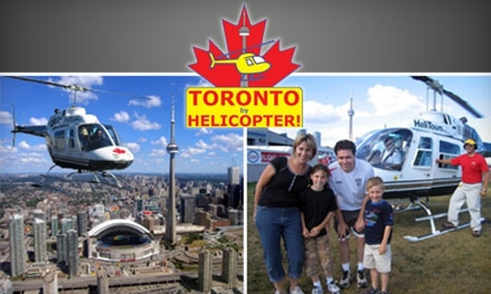 Toronto Helicopter Tours - Centre Island: $67 for a 15-Kilometre Route with Toronto Helicopter Tours