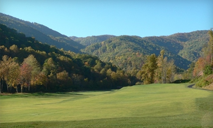 Smoky Mountain Country Club - Whittier: $60 for 18 Holes of Golf for Two, Cart Rental, and Range Balls at Smoky Mountain Country Club in Whittier (Up to $126 Value)