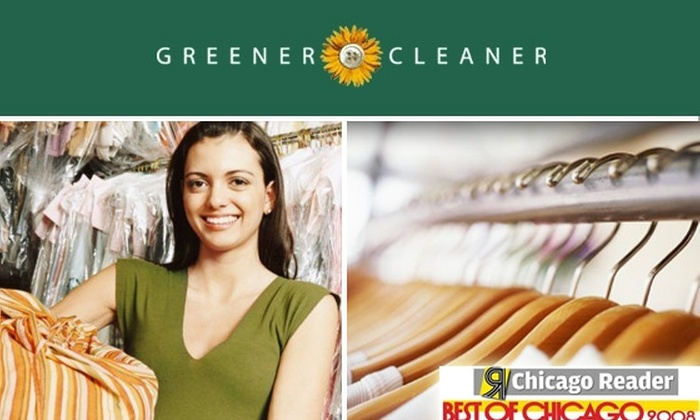 Greener Cleaner - Chicago: Eco-Friendly Dry Cleaning at Greener Cleaner - All Five Locations or Pickup & Delivery