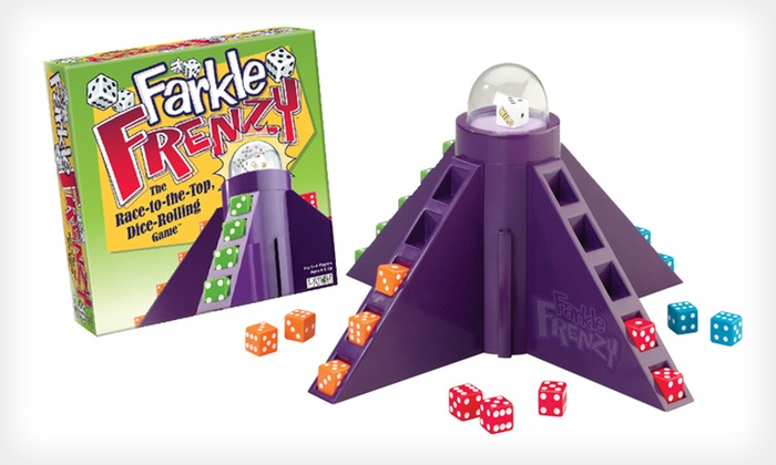 Farkle Frenzy Dice Game: $9 for Farkle Frenzy Dice Game ($21.99 List Price). Free Shipping.
