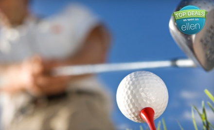 2 Hours of Golf-Simulator Play for Up to 4 People (an $80 value) - Joe Dumars' Fieldhouse in Shelby Township