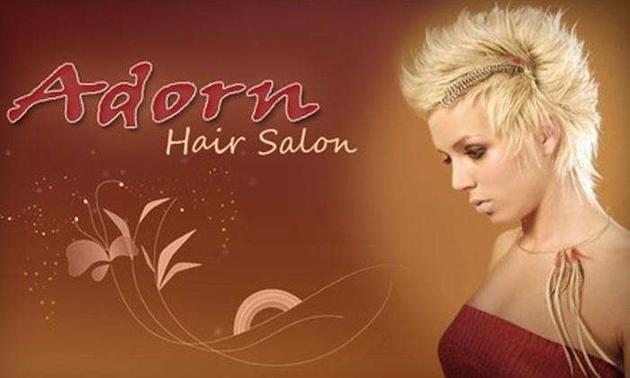 Adorn Hair Salon - Chesterfield: $25 for $55 Worth of Services at Adorn Hair Salon
