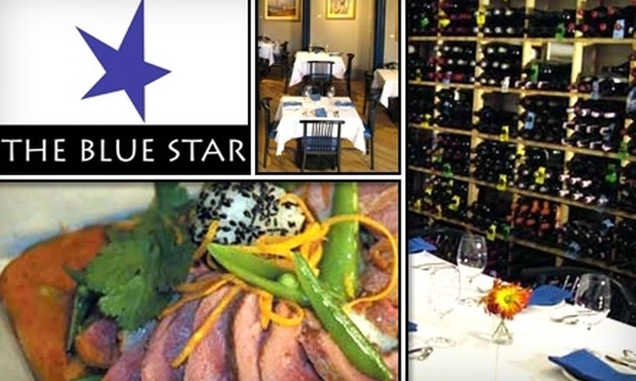 The Blue Star - Central Colorado City: $18 for $45 Worth of Drinks and Dining at The Blue Star