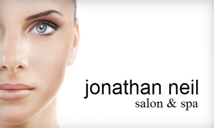 Jonathan Neil Salon & Spa - Downtown Halifax: $35 for a Mani-Pedi (Up to $115 Value) or $10 for $20 Worth of Waxing Services at Jonathan Neil Salon & Spa