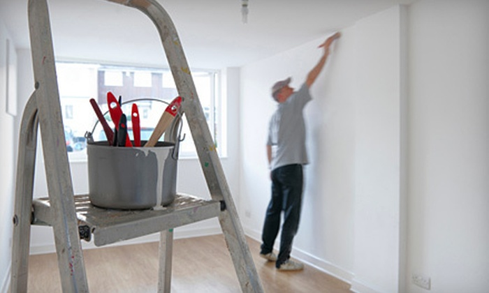 Advanced Resets and Remodels - Downtown - Penn Quarter - Chinatown: Interior Painting for One or Three Rooms from Advanced Resets and Remodels (Up to 67% Off)