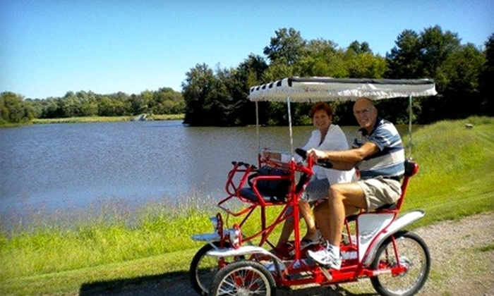 The Winery at Shale Lake - Williamson: $10 for a Bike Rental, Complimentary Wine Tasting, and $20 Worth of Wine and Bistro Fare at The Winery at Shale Lake in Williamson ($30 Value)