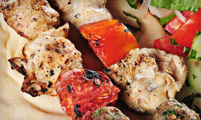 Cosmos - Roblin Park: $15 for $30 Worth of Greek Fare and Drinks at Cosmos Restaurant & Lounge