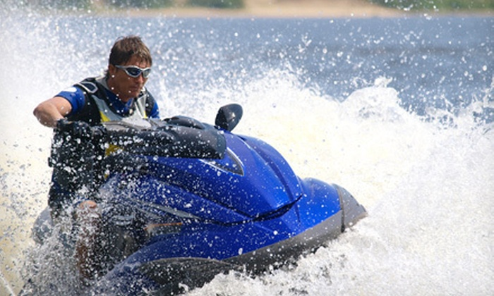 Invert Sports - Sunset Heights: One or Two Half-Day Jet-Ski Rentals at Invert Sports in American Fork (Up to 54% Off)