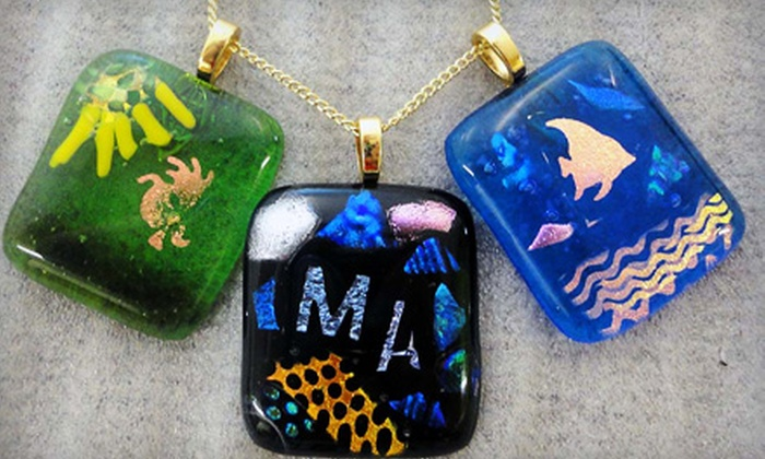 Bella Glass Studios, Inc. - Denver: $15 for a Glass-Pendant-Making Class at Bella Glass Studios, Inc. ($30 Value)