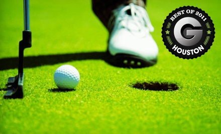 Golf-Outing Package for 1 - Red Wolf Golf Resort in Huffman