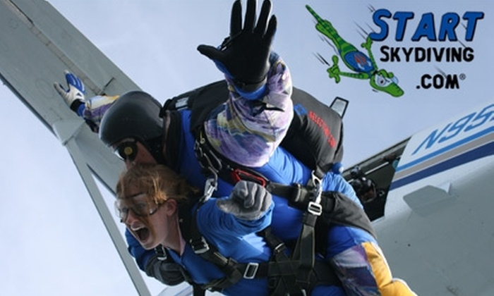 Start Skydiving - Middletown: $119 Tandem Jump with Start Skydiving (Up to $239 Value)