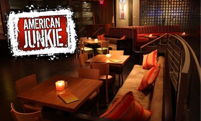 American Junkie - Downtown Scottsdale: $15 for $30 Worth of Drinks and Savory Fare at American Junkie in Scottsdale