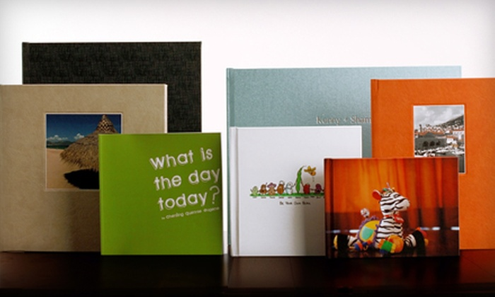 Photobook Canada: $40 for $115 Worth of Keepsake Books from Photobook Canada
