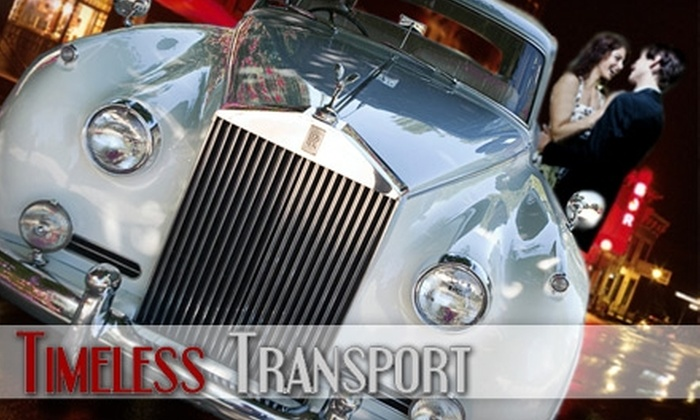 Timeless Transport - Omaha: $75 for a One-Hour Weekday Rolls Royce Rental or $100 for a One-Hour Weekend Rental from Timeless Transport