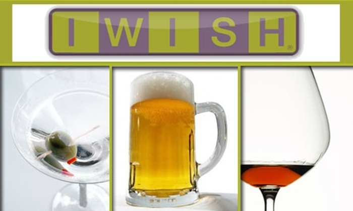 """I Wish LLC - Chicago: $15 for One """"Drinks Around the World"""" Event with I WISH ($30 Value)"""