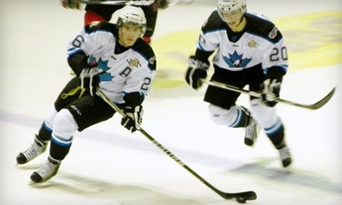 Penticton Vees - Penticton: $12 for Two Tickets to Any Penticton Vees Home Hockey Game at South Okanagan Events Centre (Up to $24 Value)