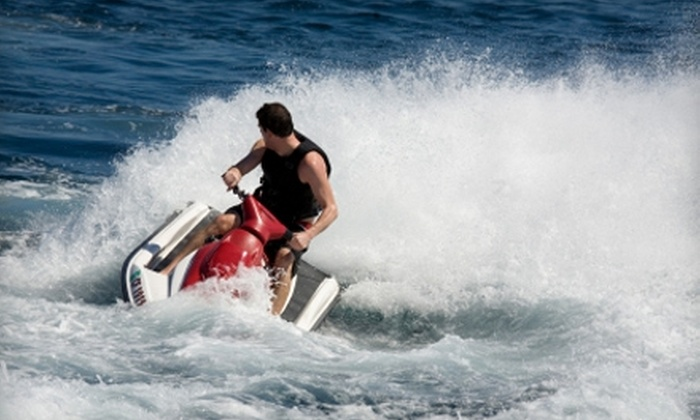 Big Power Sports - Green Lake: $250 for an Eight-Hour Jet-Ski Rental for Two from Big Power Sports in Green Lake ($600 Value)