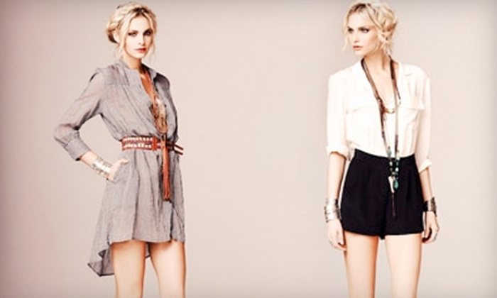 Sway and Cake - Central Business District: $20 for $50 Worth of Women's Clothing and Accessories at Sway and Cake