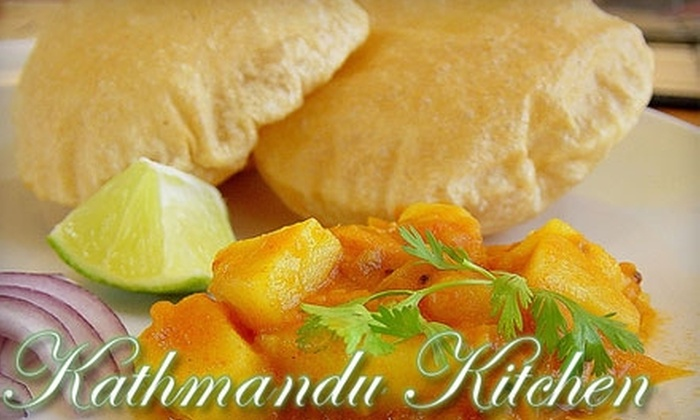 Kathmandu Kitchen - Southwestern Sacramento: $8 for $20 of Authentic Indian and Nepalese Cuisine and Drink at Kathmandu Kitchen