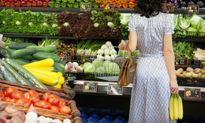 Garden Fresh Market  - Multiple Locations: $10 for $20 Worth of Groceries at Garden Fresh Market. Five Locations Available.