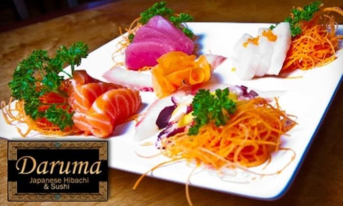 Daruma Japanese Steak House - Daphne: $10 for $20 Worth of Authentic Japanese Fare at Daruma Japanese Sushi & Steak House