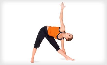 5 Yoga Classes ($70 value) - CuraYoga in Houston