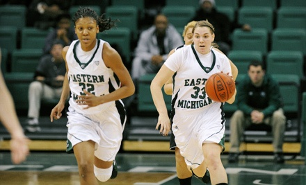 EMU Women's Basketball Games at EMU Convocation Center on November 15 and December 11 (Up to 68% Off)
