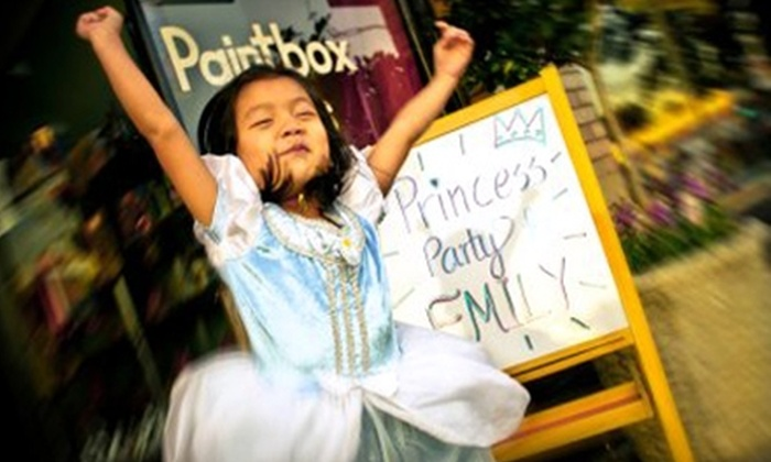 Paintbox Kids - East Central: $175 for a Two-Hour Paintbox Party for Up to 10 Kids at Paintbox Kids in Pasadena ($350 Value)