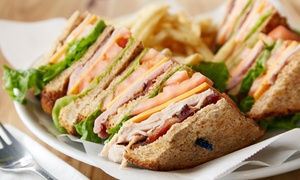 Chateau Pub and Restaurant: Burgers, Po' Boys, and Pizza for Two or Four at Chateau Pub and Restaurant (Up to 50% Off)