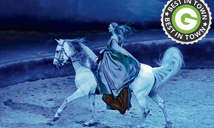 Cavalia - Perth: From $90 for an Orange, Gold, Purple or VIP Red Ticket to Cavalia, Choice of Dates and Times (From $125 Value)