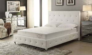 "AC Pacific 8"" Memory Foam Mattress with Aloe Vera Cover"