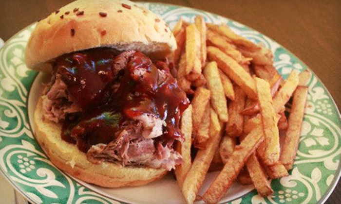 C&G's Smoking Barbecue - Tangletown: Barbecue Meal with Sandwiches and Sides for Two or Four at C&G's Smoking Barbecue (Up to 56% Off)