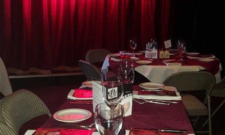 Three-Course Dinner with Cabaret Show for One, Two, Four or Six at Be Our Guest (Up to 53% Off)