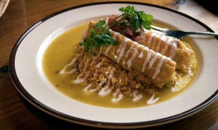 Two or Four Groupons, Each Good for $10 Worth of Mexican Food at Don Pedro Mexican Restaurant (Up to 50% Off)