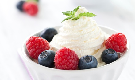 $12 for Two Groupons, Each Good for $12 Worth of Frozen Yogurt and Desserts at The Chill Factory ($24 Total Value)