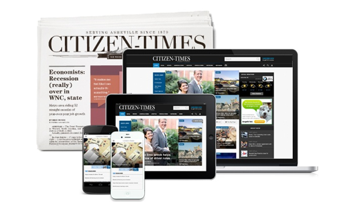 Asheville Citizen-Times: 26- or 52-Week Sunday Subscription or 52-Week Digital Access to the Asheville Citizen-Times (Up to 81% Off)